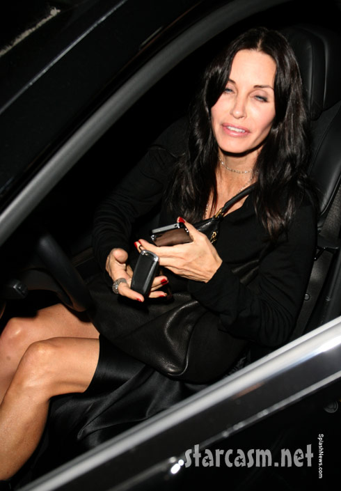 Courteney Cox before her upskirt fiasco