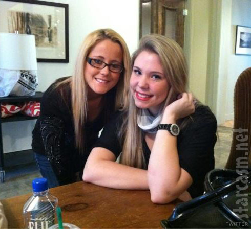 Teen mom 2 stars Jenelle Evans and Kailyn Lowry in New York City