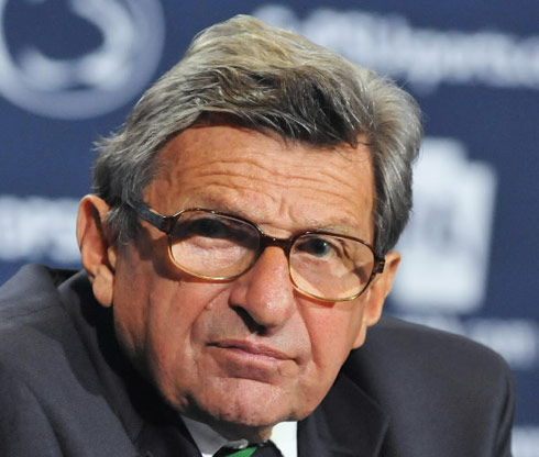 Penn State Head Coach Joe Paterno