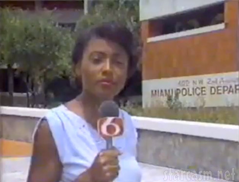 Joyce Evans Miami reporter sign off viral video clip WCIX