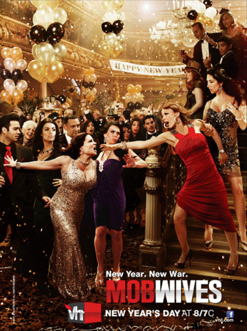 Promo poster for Mob Wives Season 2