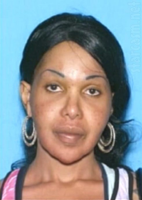 Oneal Morris mug shot photo after she was arrested for injecting cement and Fix-a-Flat in a patient's butt