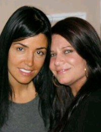 Mob Wives Ramona Rizzo with Karen Gravano