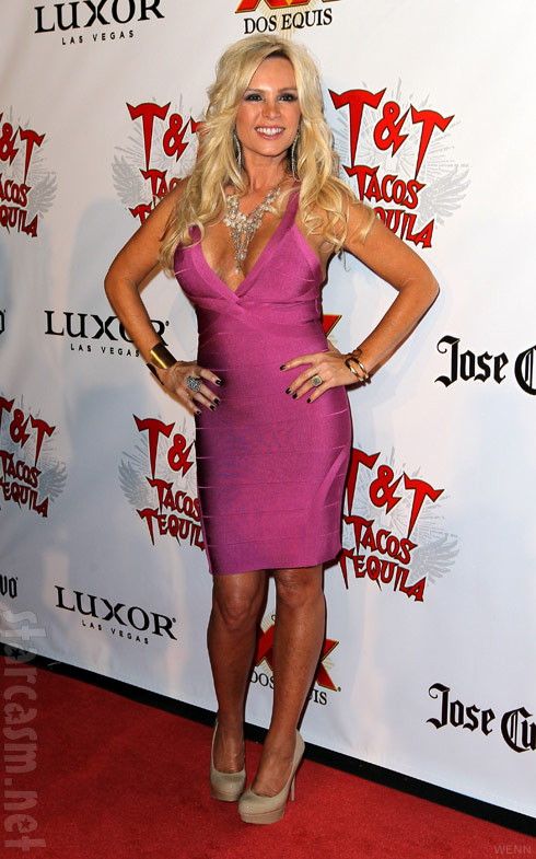 Tamra Barney from The Real Housewives of Orange County