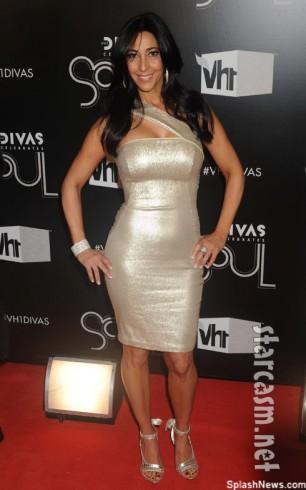 Mob Wives Carla Facciolo attends VH1 DIVAS Celebrates Soul