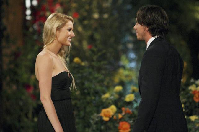 The Bachelor's Casey Shteamer meets Ben Flajnik for the first time