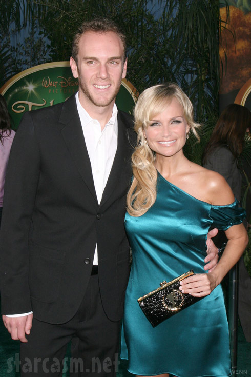 Charles McDowell and girlfriend Kristin Chenoweth in 2008