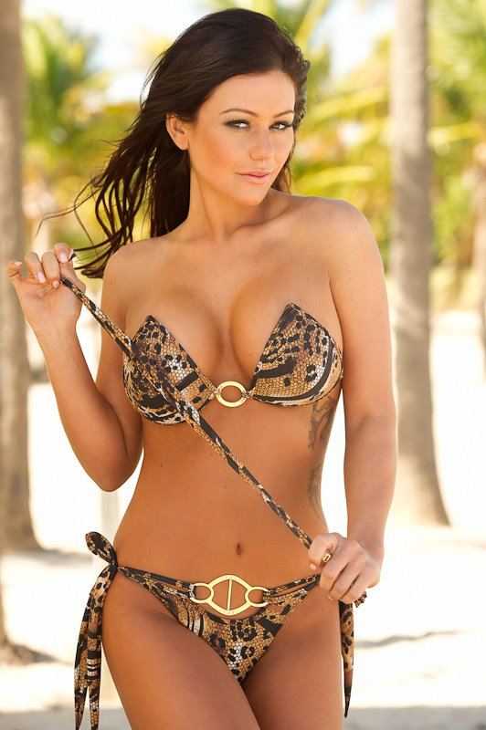 Jenni JWoww Farley bikini photo