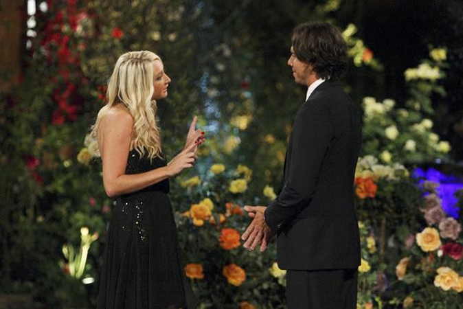 Jaclyn Swartz meets Ben Flajnik from The Bachelor 16 on episode one
