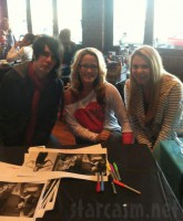 Teen Mom 2 stars Jenelle Evans and Kailyn Lowry with Ryan Dunson of Rookie of the Year
