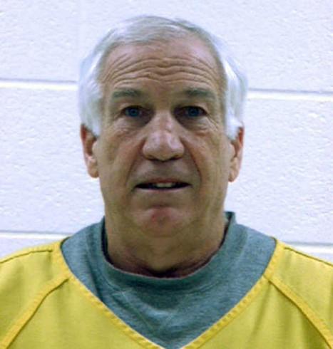 Mug Shot Jerry Sandusky