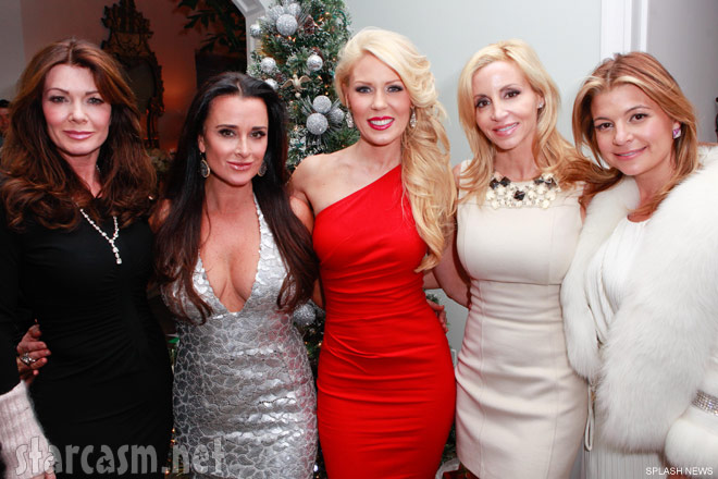Lisa Vanderpump Kyle Richards Gretchen Rossi Camille Grammer and Dana Wilkey