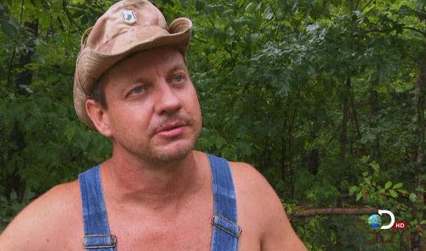 Moonshiners star Tim Smith from Discovery Channel