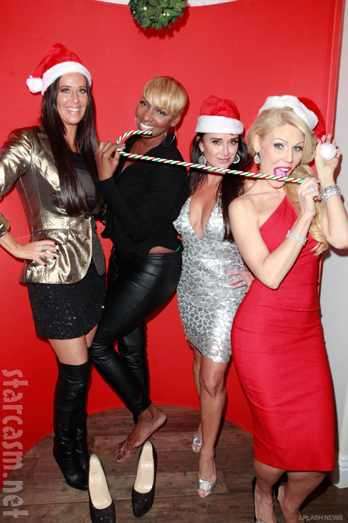 Patti Stanger NeNe Leakes Kyle Richards and Gretchen Rossi Christmas party photo
