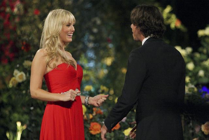 Rachel Truehart meets The Bachelor Ben Flajnik on episode 1 of Season 16