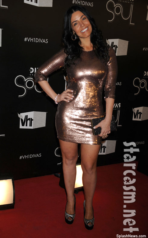 Mob Wives Ramona Rizzo attends VH1 DIVAS Celebrate Soul