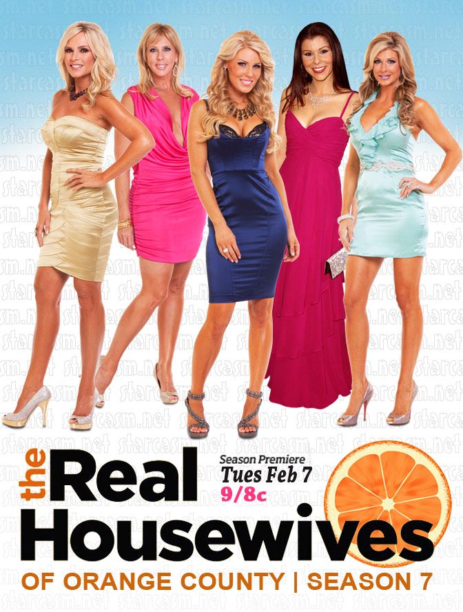 Real Housewives of Orange County Season 7 cast photo