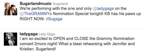 Sugarland_Gaga_Tweet