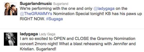 Sugarland_Gaga_Tweet