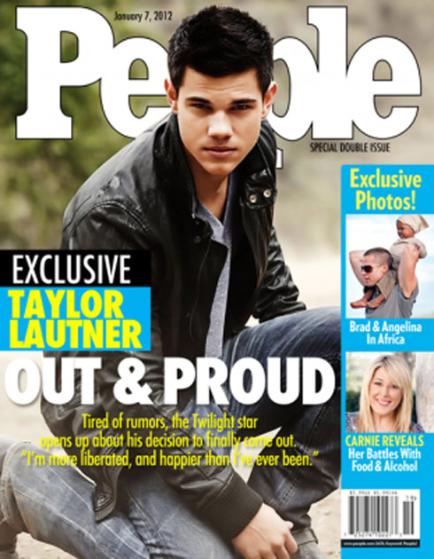 Taylor Lautner gay People magazine cover Russian girls are hot. Unfortunately, there is only gold in clan war Russian ...