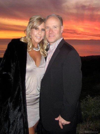 Vicki Gunvalson and new boyfriend Brooks Ayers photo