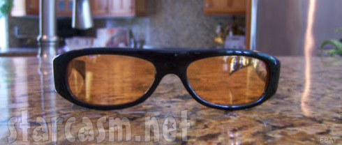 Barry Weiss's custom glasses made by West Coast Choppers
