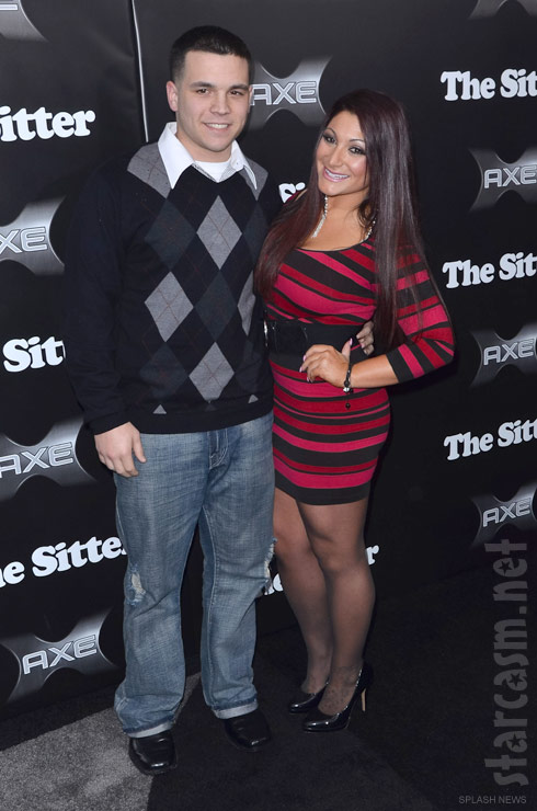 Jersey Shore's Deena with her new obyfriend Chris