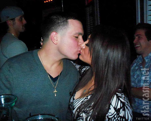 Deena Nicole Cortese and new boyfriend Chris Buckner kiss on her birthday