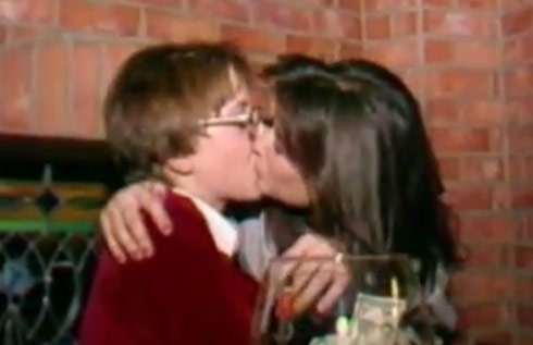 Demi Moore kisses Philip Tanzini