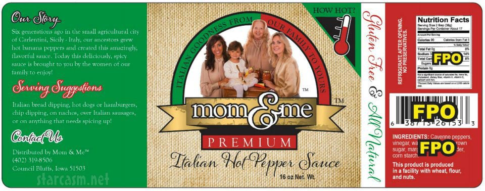 Teen Mom Farrah Abraham's Italian hot pepper sauce