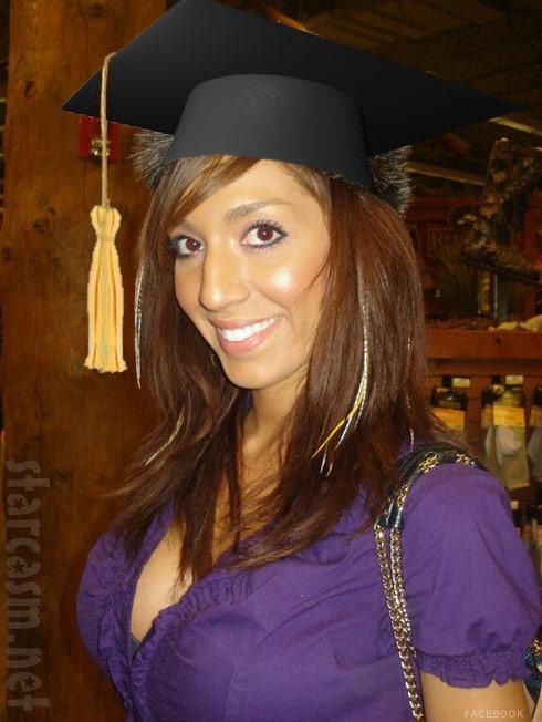 Teen Mom Farrah Abraham getting master's degree, to offer ...