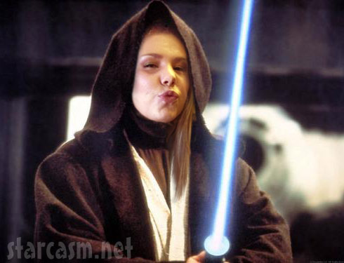 Teen Mom Kailyn Lowry as Obi-Wan Kenobi from Star Wars