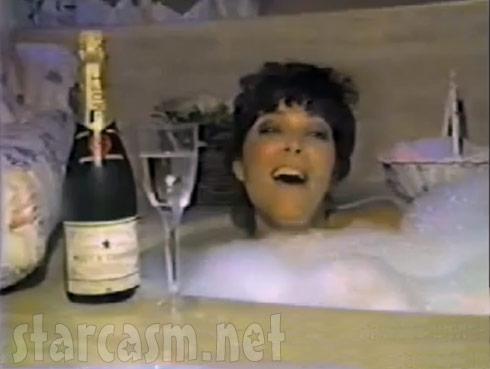 Kris Jenner as Kris Kardashian in 1985