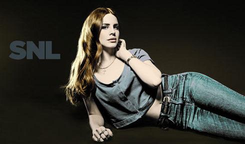 Lana Del Rey SNL