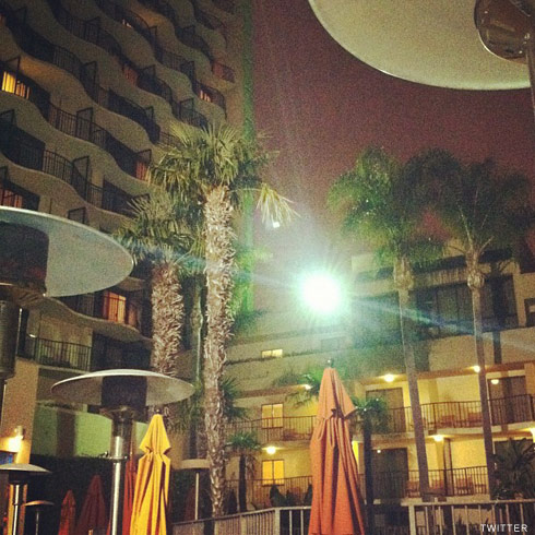 Maci Bookout photo of the Anaheim Marriott hotel