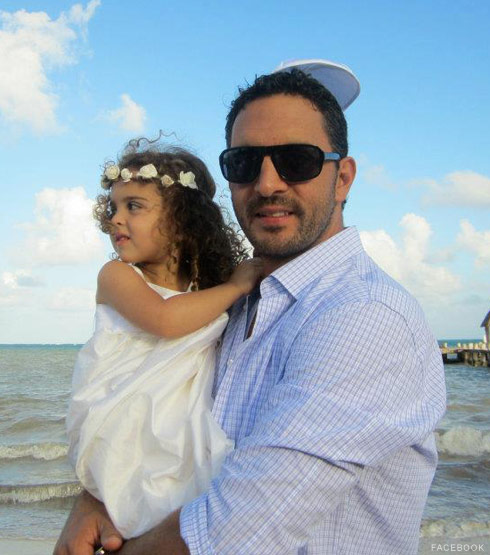 Mauricio Umansky with daughter Portia Umansky