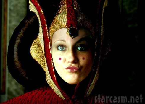 Teen Mom Jenelle Evans as Queen Amidala from Star Wars