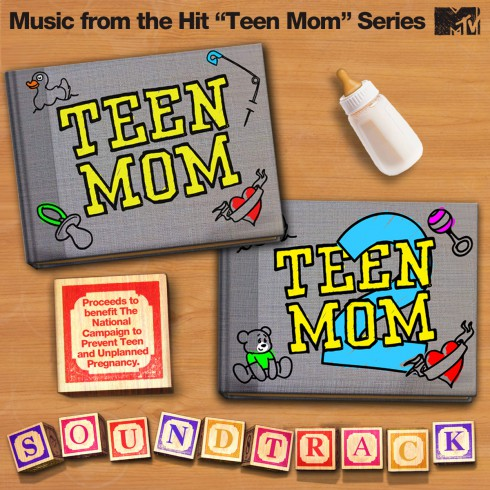 Official graphic for the Teen Mom Soundtrack