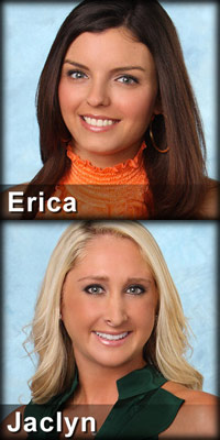 Erica Uhlig and Jaclyn Swartz eliminated in Week 3 of The Bachelor Season 16