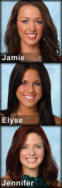 Elyse Myers, Jamie Otis, Jennifer Fritsch The Bachelor Week 5 eliminations