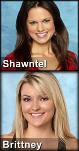 The Bachelor Shawntel Newton Brittney Schreiner