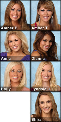 Season 16 The Bachelor contestants eliminated in episode 1
