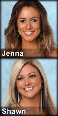 Jenna Burke and Shawn Reynolds eliminated in episode 2 of The Bachelor 16