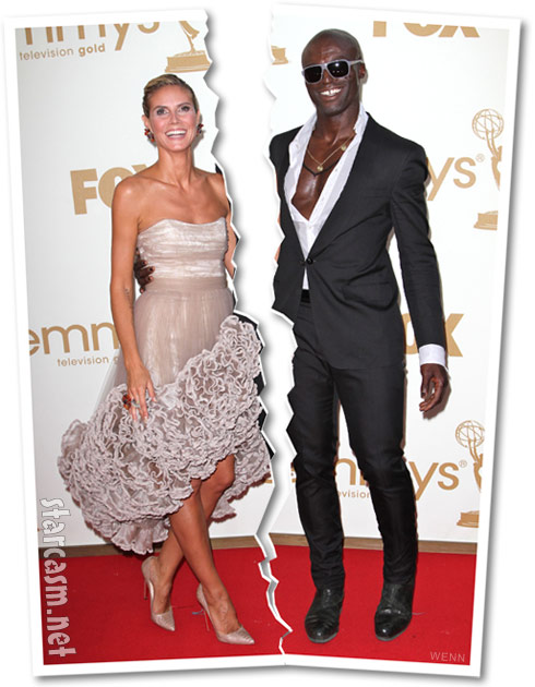 Heidi Klum and Seal to divorce