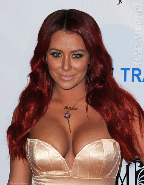 Aubrey O&#039;Day red hair