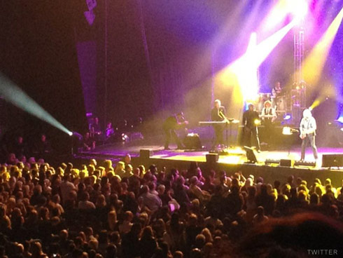 Barry Gibb concert February 2012 in Hollywood, FL