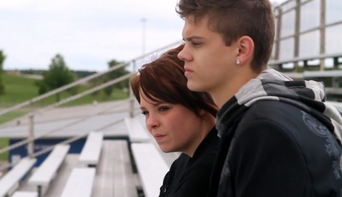 Catelynn Lowell and Tyler Baltierra Appear in Adoption Commercial