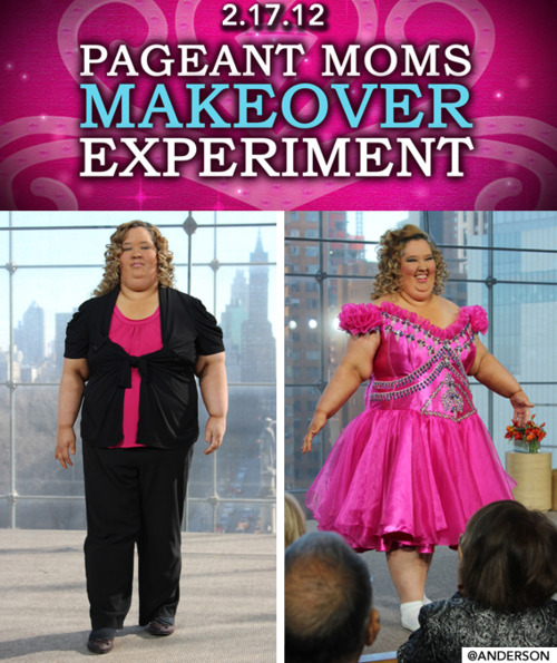 Anderson Cooper makes over Honey Boo Boo star Mama June in daughters pageant dress
