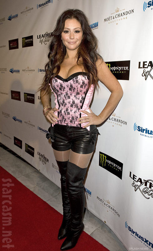 JWoww Leather and Laces