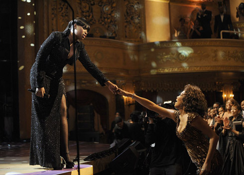 Jennifer Hudson and Whitney Houston 2010 BET Awards